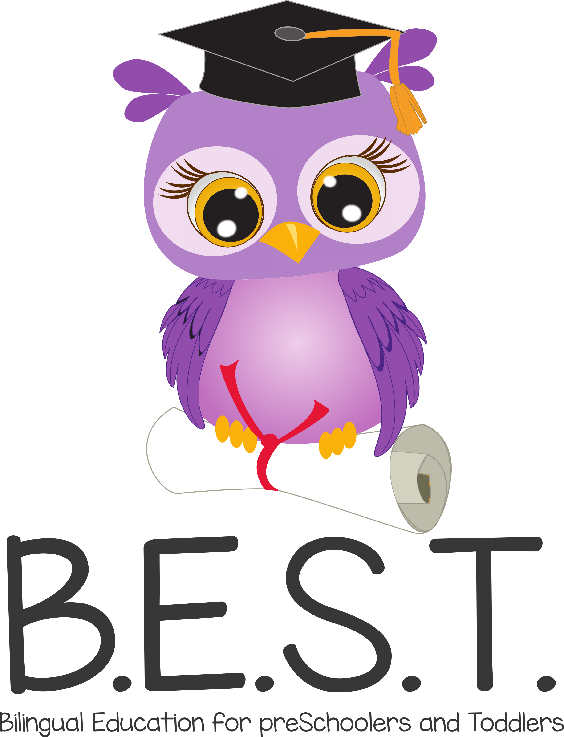 logo B.E.S.T Bilingual Education for preSchoolers and Toddlers