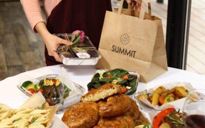 Fiecare zi e o sarbatoare, cu restaurantul online Summit!