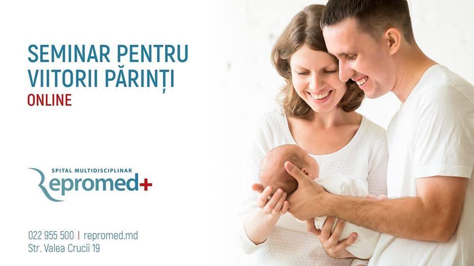 Seminar online pentru viitorii părinţi