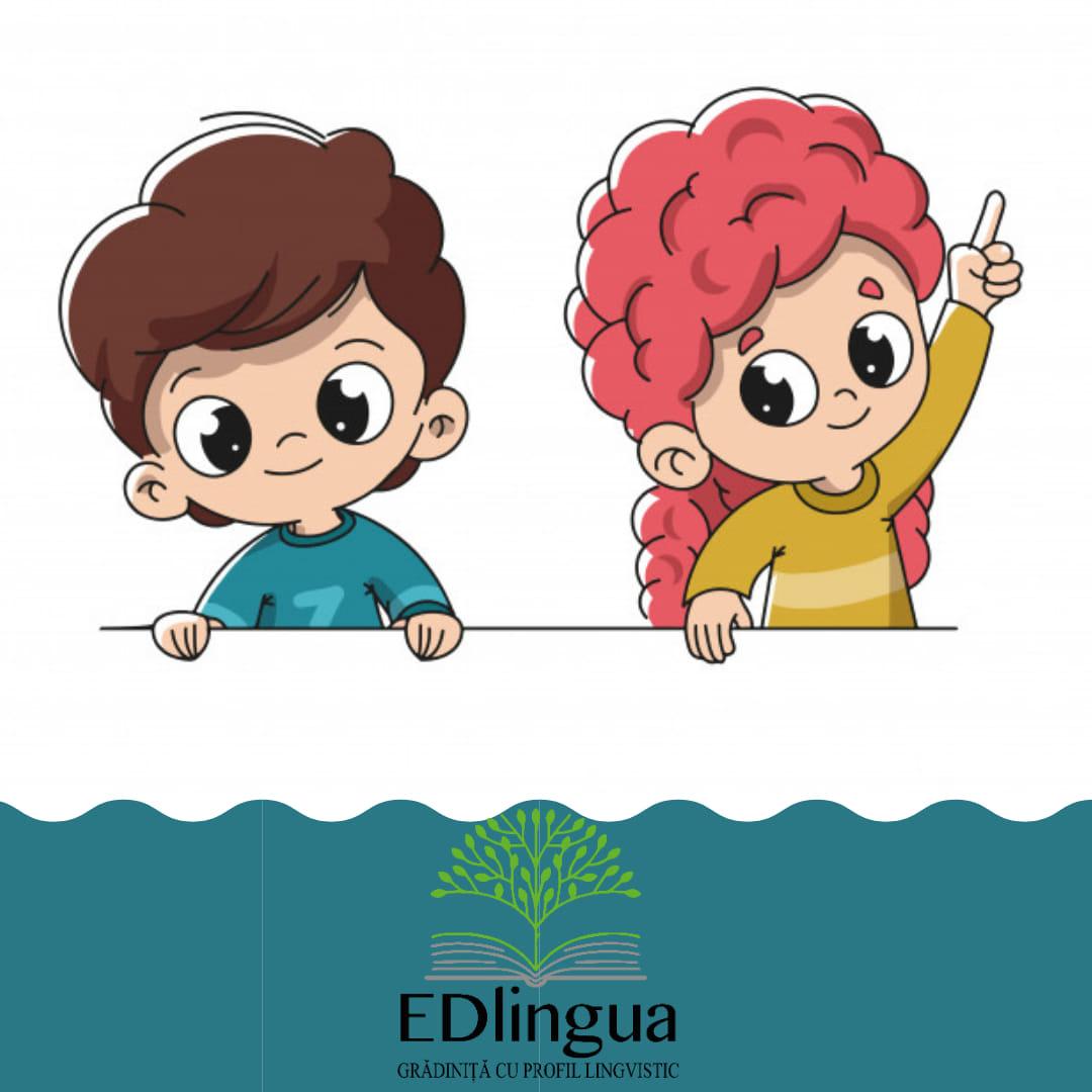 "logo Grădinița cu Profil Lingvistic ""EDlingua"""